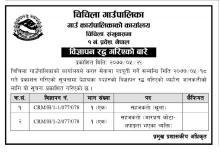 Cancellation of Notice